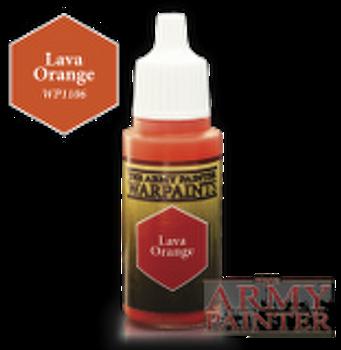 Lava Orange paint pot