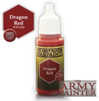 Dragon Red paint pot