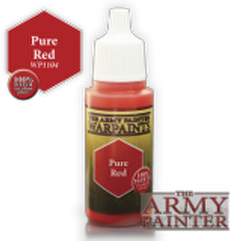 Pure Red paint pot