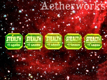 Stealth Tokens - Flourescent Green (5)