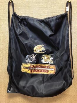 Dungeons & Dragons Logo Draw String Carry Bag