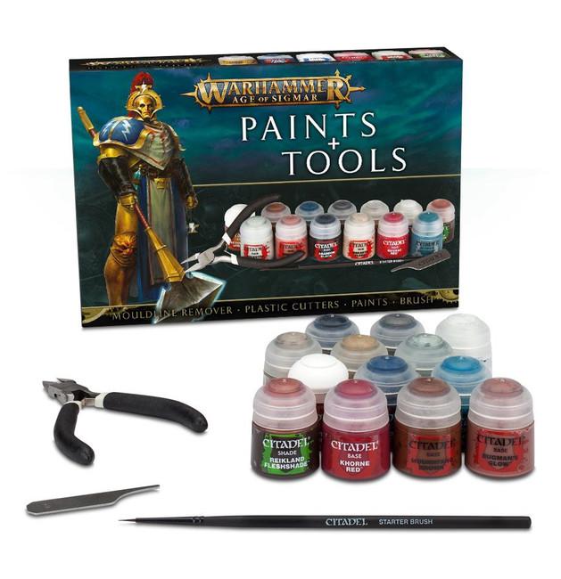 80-17-60 AOS WH Paints & Tools Set