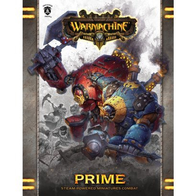 Warmachine Prime Rulebook - Hardcover