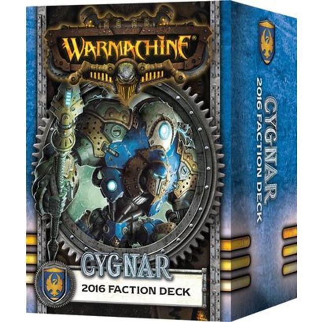 Warmachine - Cygnar Faction Card Deck - 2016