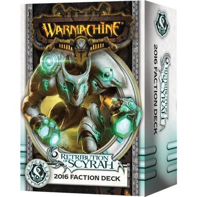 Warmachine - Retribution of Scyrah Faction Card Deck - 2016