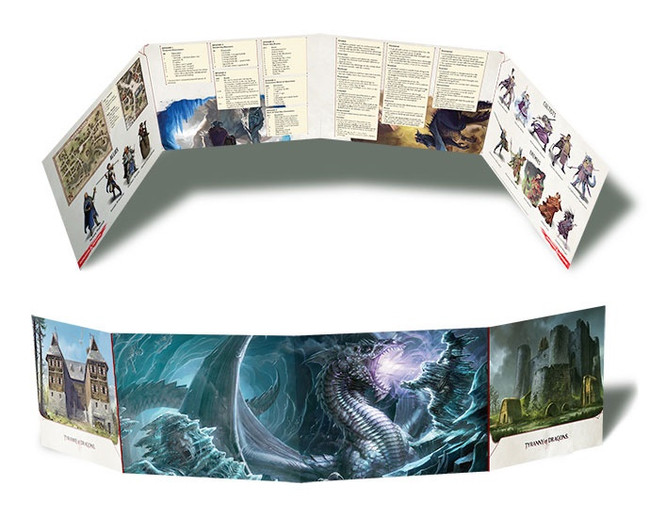 D&D: Tyranny of the Dragons: DM Screen