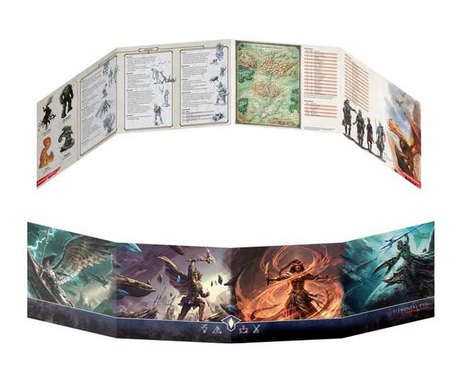 D&D: Temple of Elemental Evil: DM Screen