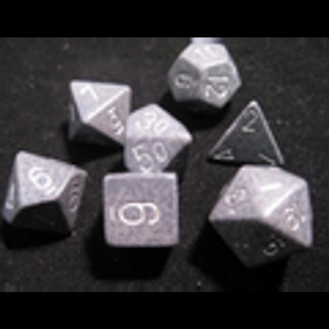 Speckled Hi-Tech Polyhedral 7-Die Set