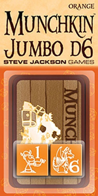 Munchkin Jumbo d6: Orange