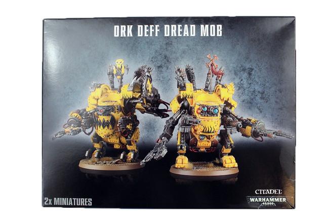 50-27 Ork Deff Dread Mob