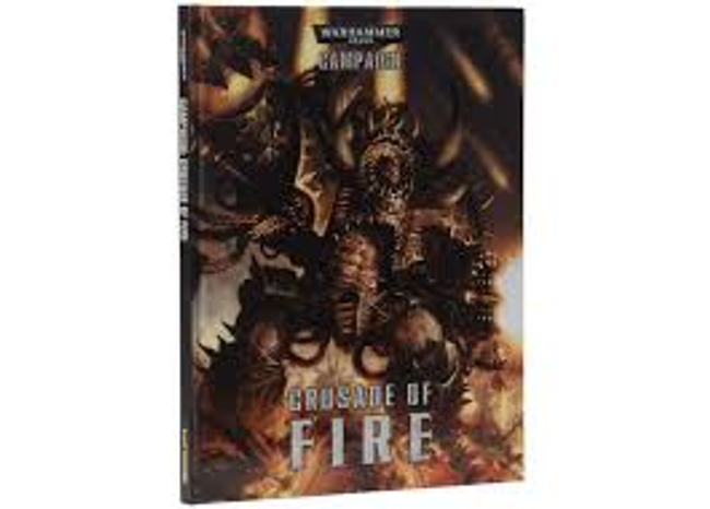 40-16 WH 40K Cursade of Fire Campaign Hard Cover