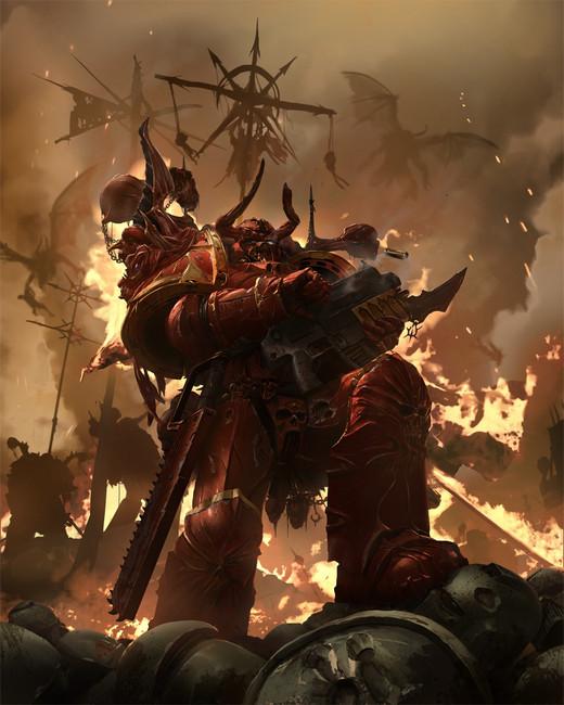 43-03 WH 40K Crimson Slaughter Codex Hard Cover