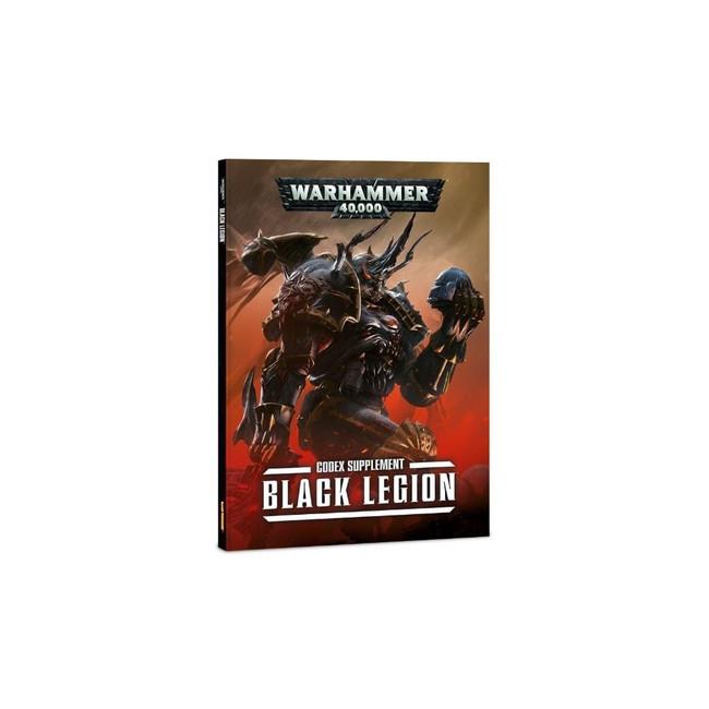 WH 40K Black Legion Codex Hard Cover