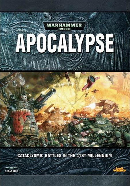 40-03 WH 40K Apocalypse Manual Hard Cover