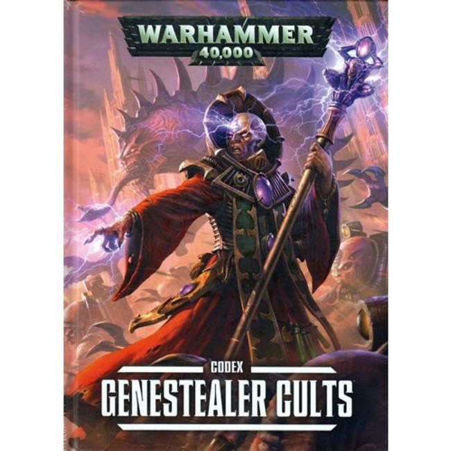 51-40-60 WH 40K GenestealerCults Codex hard Cover
