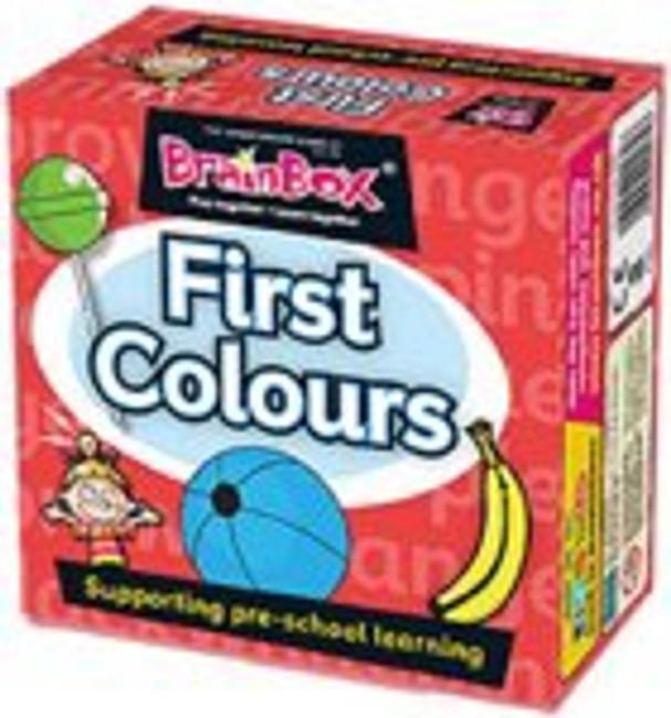 Brainbox: My First Colours Pre School