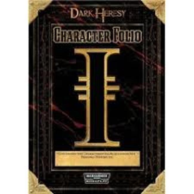 Dark Heresy Character Folio