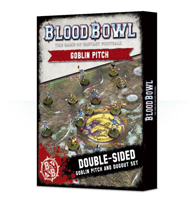 200-25 Blood Bowl: Goblin Pitch & Dugouts