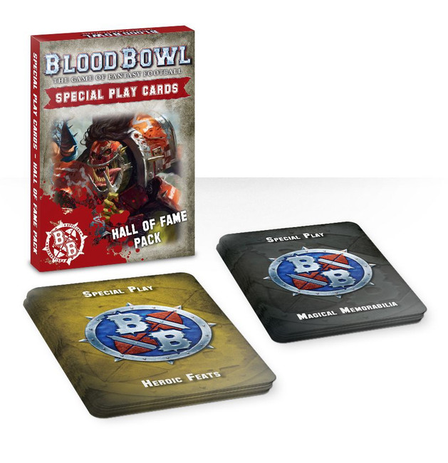 200-03-60 Blood Bowl: Special Play Cards: Hall of Fame Pack