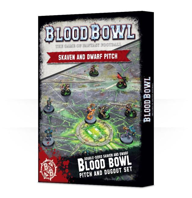 200-06 Blood Bowl: Skaven & Dwarf Pitch
