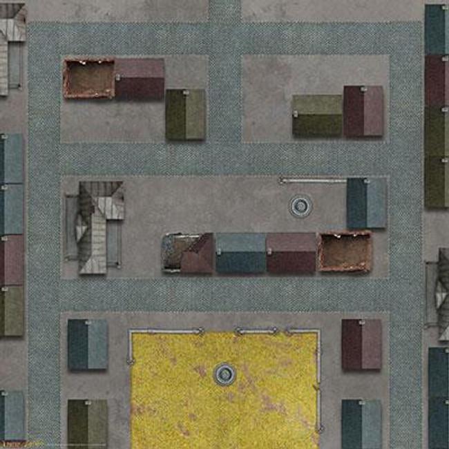 Tanks Caen Game Mat