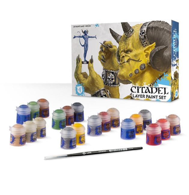 60-25 Citadel Layer Paint Set 2015