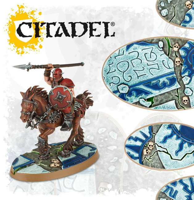66-98 AOS: Shattered Dominion: 60 & 90mm Oval Bases