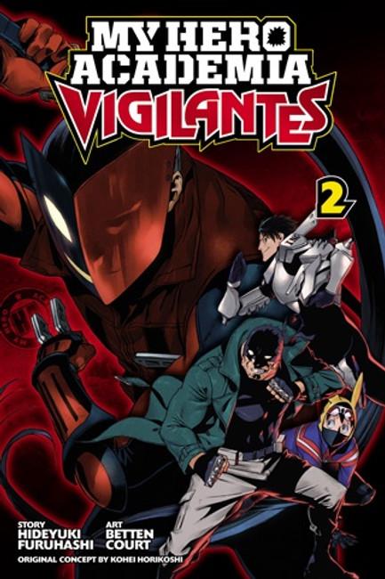 My Hero Academia Vigilantes vol 2