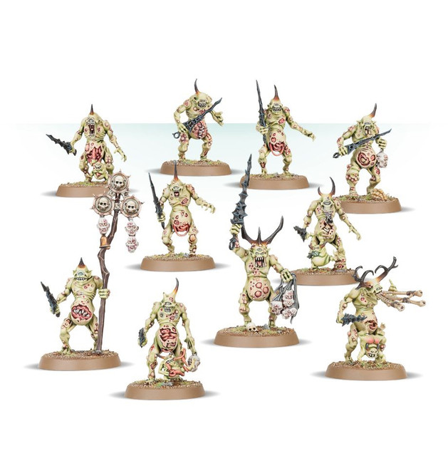 97-10 Daemons of Nurgle Plaguebearers
