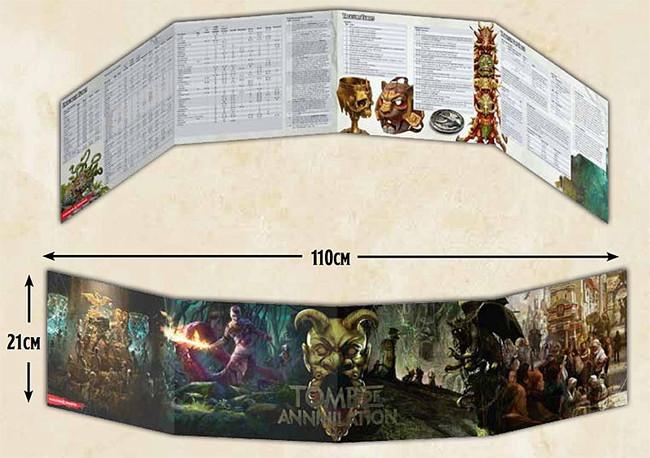 D&D: Tomb of Annihilation: DM Screen