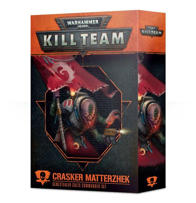 102-37-60 WH 40K Kill Team Commander: Crasker Matterzhek