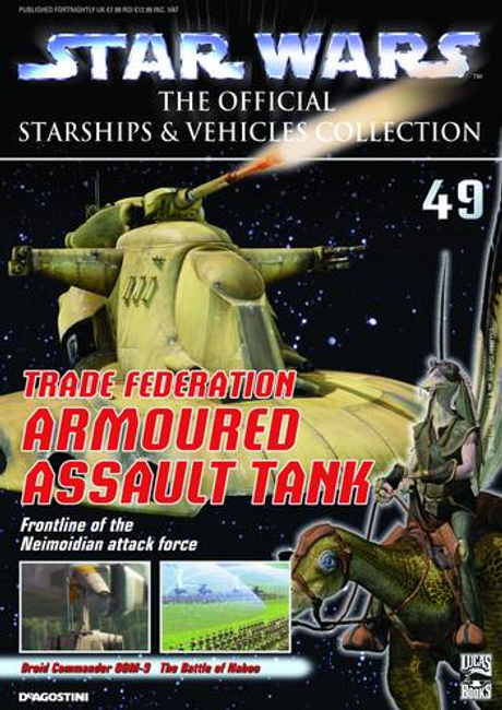 Star Wars The Official Starships & Vehicle Collection #49