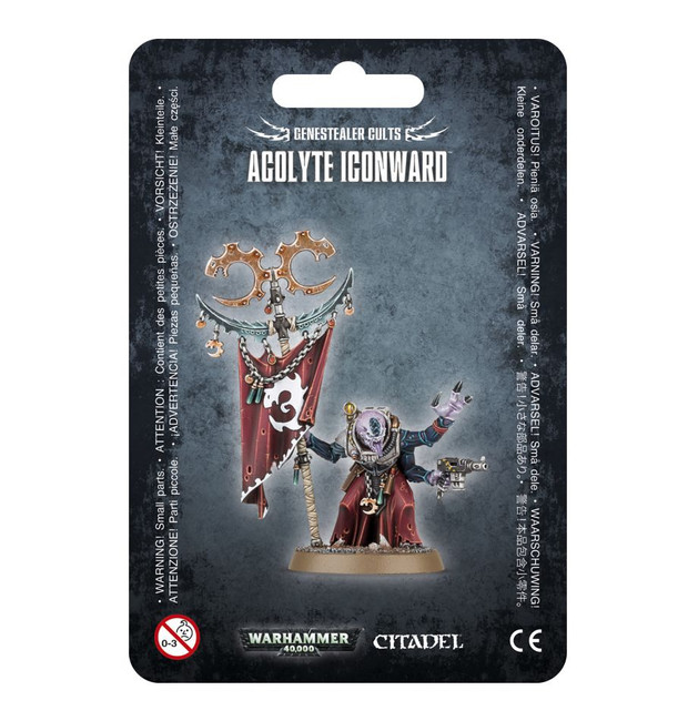51-54 Genestealer Cults Acolyte Iconward (DR)