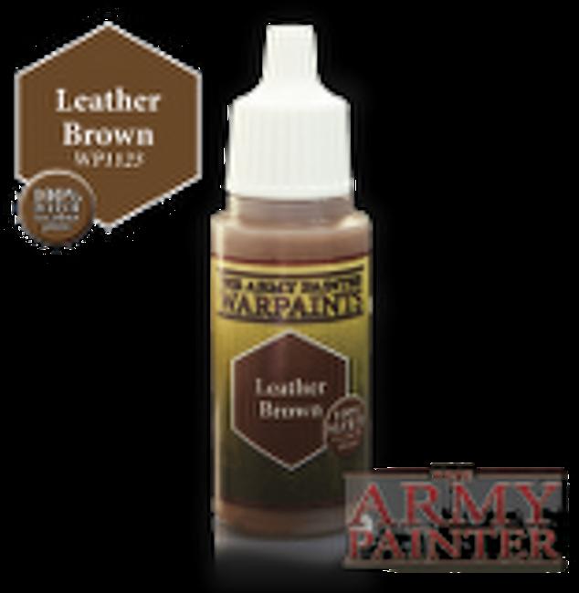 Leather Brown paint pot