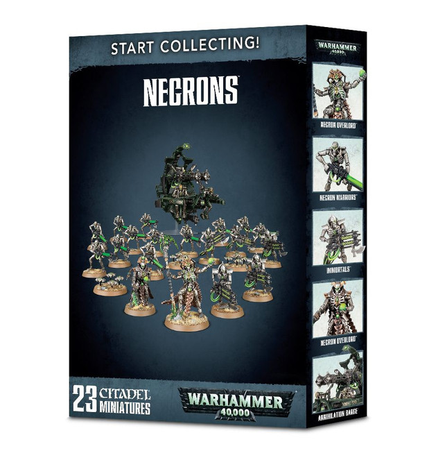 70-49 Start Collecting! Necrons 2018