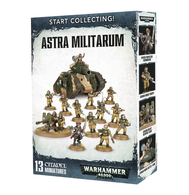 70-47 Start Collecting! Astra Militarum 2017