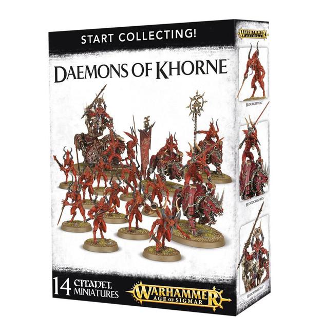 70-97 Start Collecting! Daemons of Khorne 2017