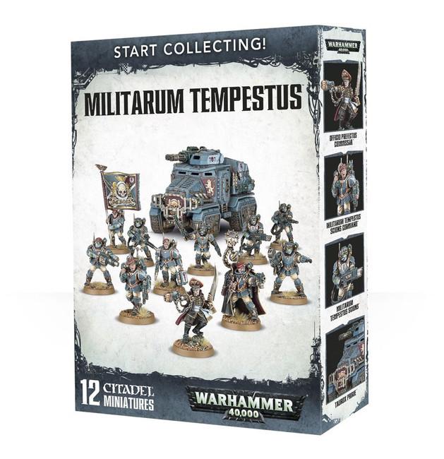 70-54 Start Collecting! Militarum Tempestus 2017