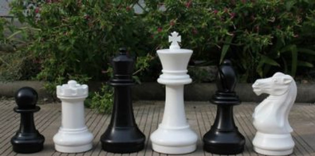 410mm Garden Patio Chess Set