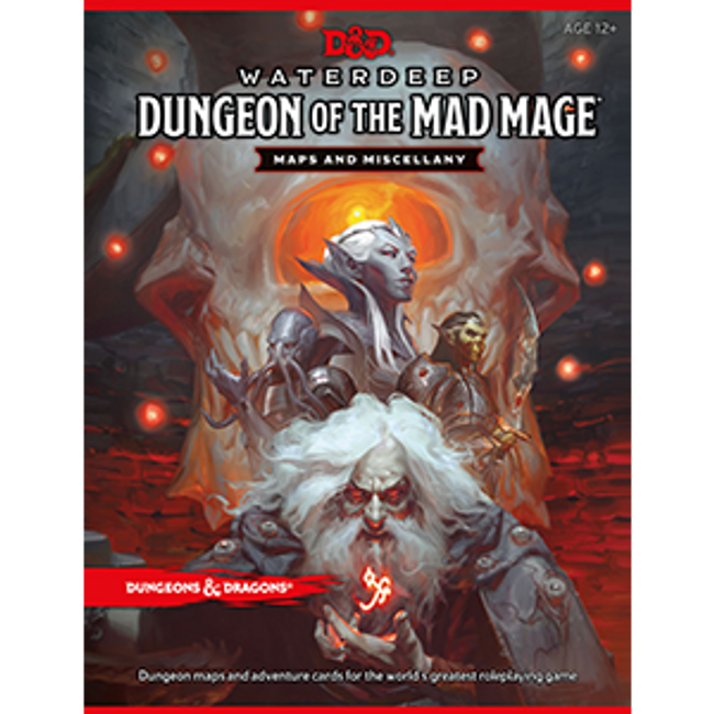 Dungeons and Dragons Water Deep: Dungeon of the Mad Mage Map Pack