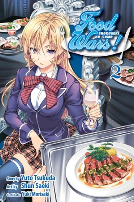 Food Wars Vol 2
