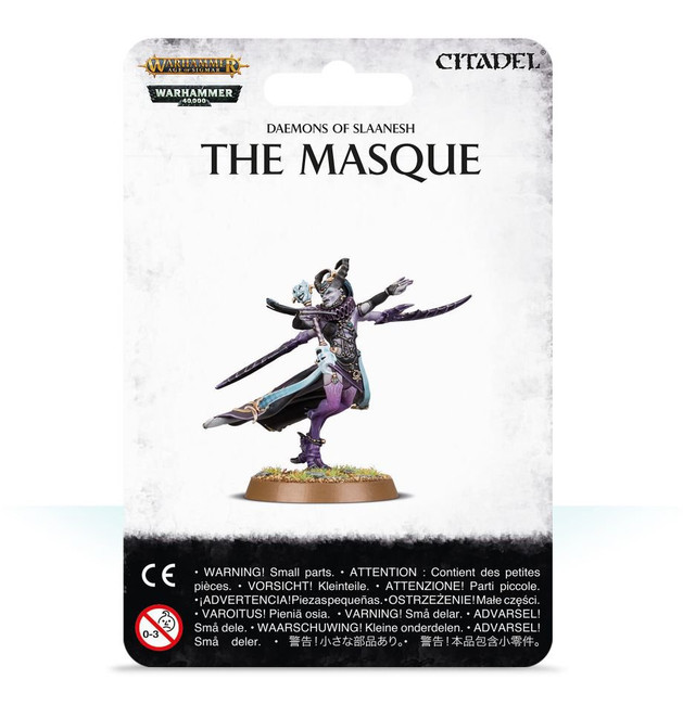 97-65 Daemons of Slaanesh The Masque