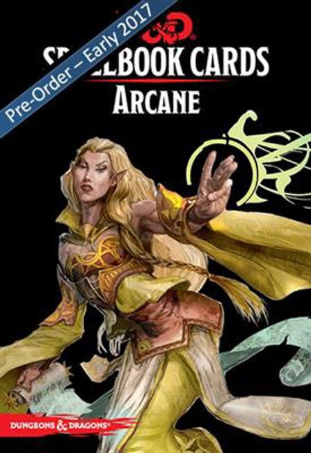 D&D: Spellbook Cards: Arcane Deck