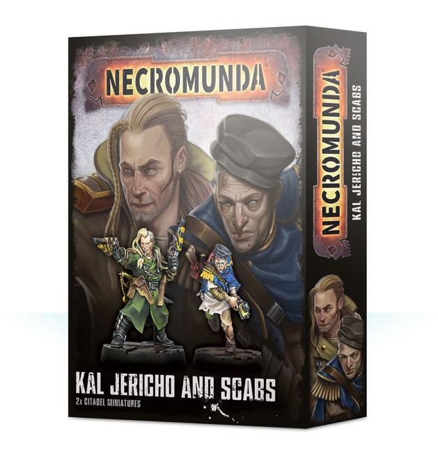 300-38 Necromunda Kal Jericho and Scabs