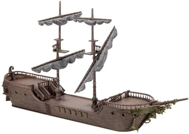 Dungeons & Dragons Falling Star Sailing Ship