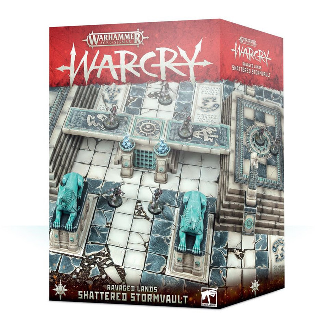 111-31 AOS Warcry: Shattered Stormvault