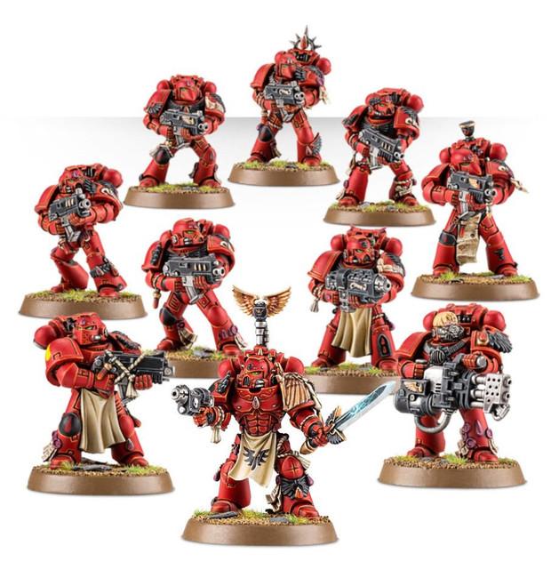 41-12 Blood Angels Tactical Squad 2017