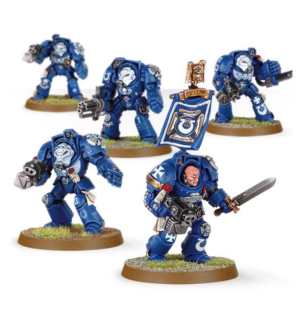 48-10 Space Marine Terminator Squad