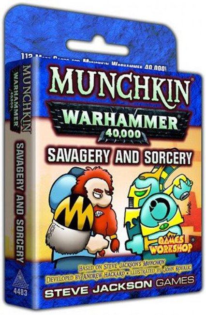 Munchkin Warhammer 40K - Savagery & Sorcery