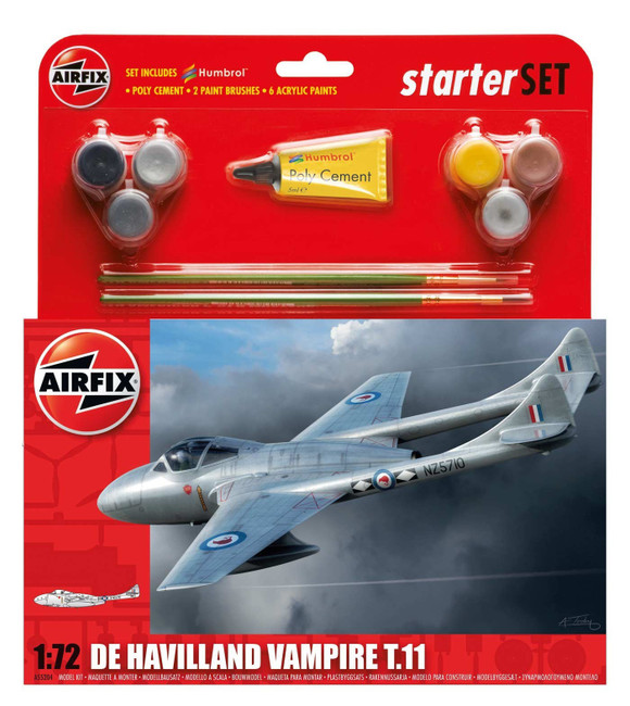 Starter Set: De Havilland Vampire T11